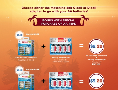Maxell Summer Specials E-mail